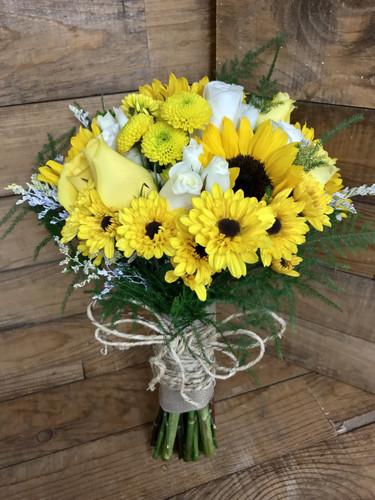 """Golden Country"" Bridal Bouquet"