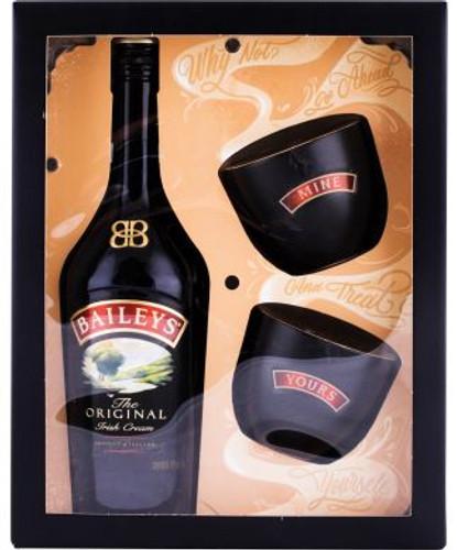 Baileys Original Irish Cream Gift set with 2 bowls