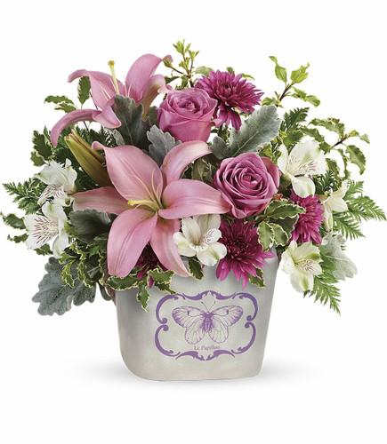 Teleflora's Monarch Garden Bouquet