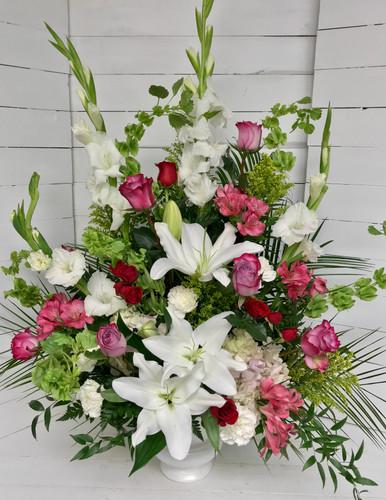 Gorgeous Garden Urn Arrangement