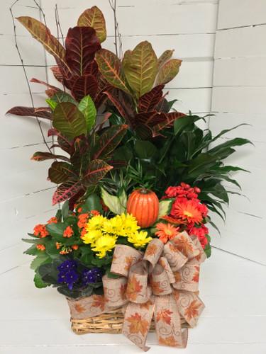 Gorgeous Fall European Garden Basket