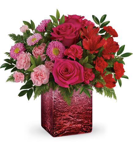 Teleflora's Breathtaking Ombre Bouquet