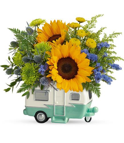 Teleflora's Retro Road Tripper Bouquet