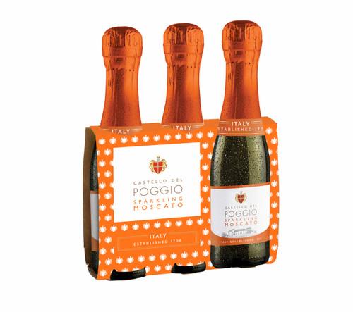 Castello Del Poggio - Moscato 187ml bottle  (3 pack)