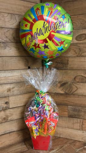 Congratulations Candy Bouquet