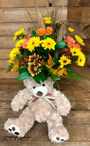 """""""A Beary Beautiful Fall Bouquet"""""""