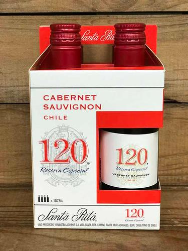 Santa Rita - Cabernet Sauvignon Reserve Especial - 4 pack 187ml bottles