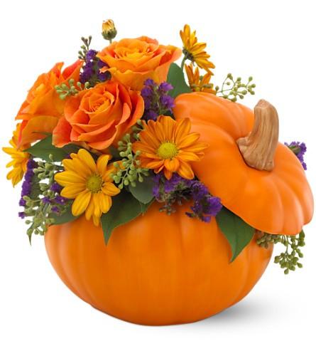 Teleflora's Pumpkin Patch Bouquet