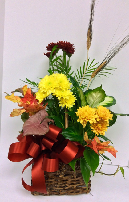Small Fall planter with fresh