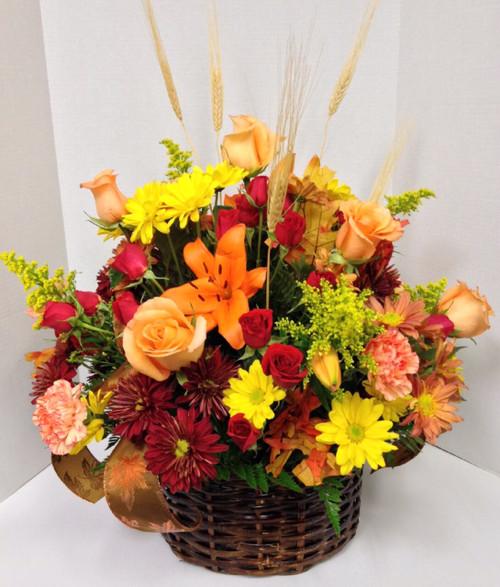 Autumns Favorites Flemish Basket