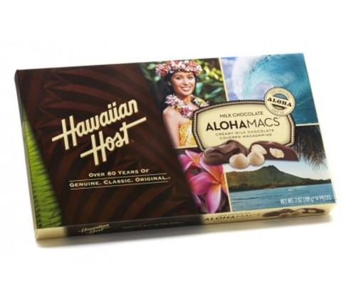AlohaMacs - Chocolate covered Macadamia Nuts