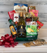 Wine gift basket for a friend