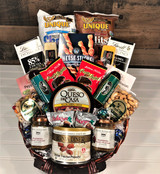 Fathers day gift basket for dad. The perfect mix of nuts, cheese and snacks that dad will surely love to celebrate fathers day with. We will deliver this locally or nationwide.