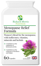 Menopause Relief - RichardMorrisNutrition.com