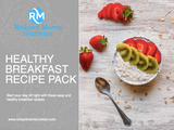 Healthy Breakfast Recipe Pack (E-Book)