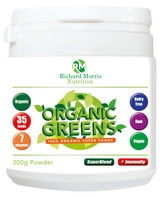 Organic Greens **New and improved formula!**