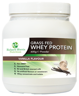 Grass Fed Whey Protein Powder - Vanilla Flavour - RichardMorrisNutrition.com
