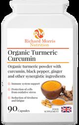 Organic Turmeric Curcumin - RichardMorrisNutrition.com