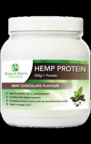 Hemp Protein Powder (Chocolate Mint) - RichardMorrisNutrition.com