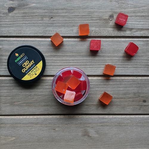 CBD Gummies (Raspberry)