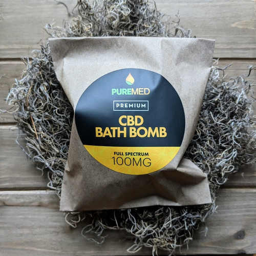 CBD Bath Bomb (Peppermint)
