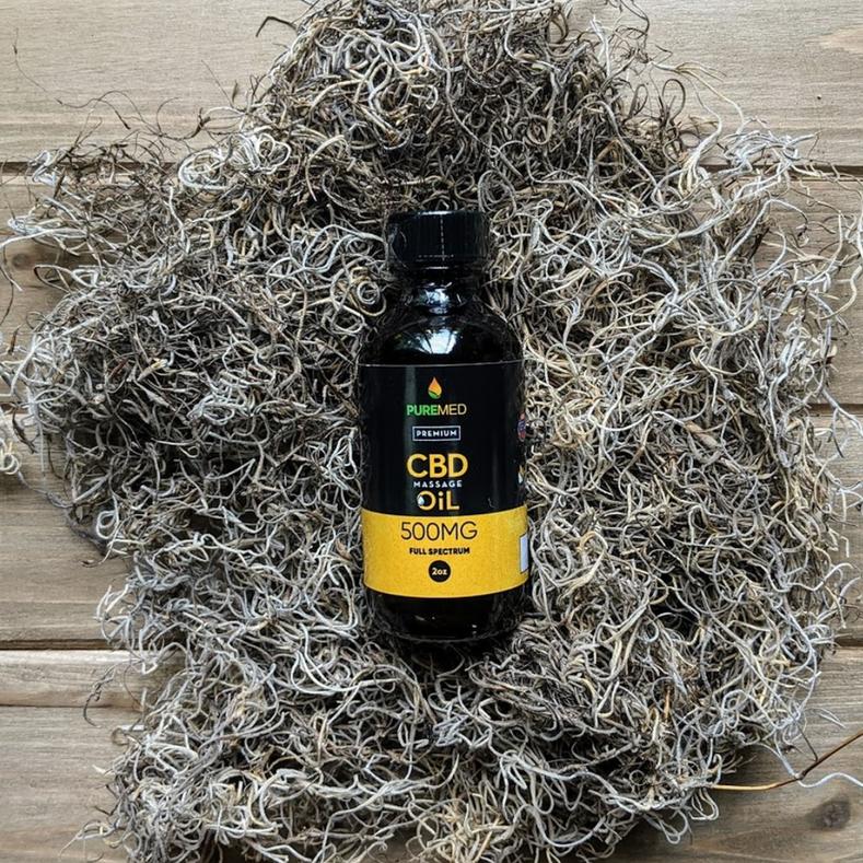 CBD Massage Oil for Pain Relief
