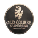 Golf Old Course St Andrews Scotland Old Course Ball Marker Black