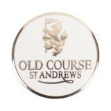 Golf Old Course St Andrews Scotland Old Course Ball Marker White