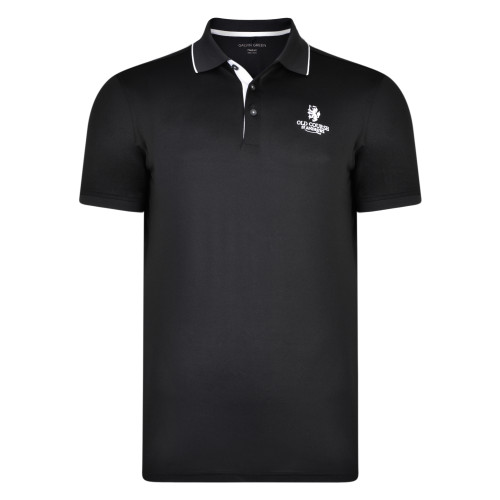 Old Course St Andrews Scotland Golf Galvin Green Marty Shirt Black