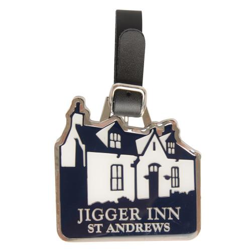 Old Course St Andrews Scotland Jigger Inn Bag Tag