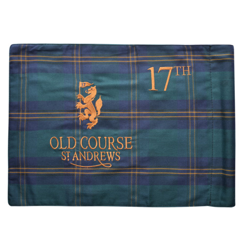 Old Course St Andrews Scotland Old Course Tartan Pin Flag