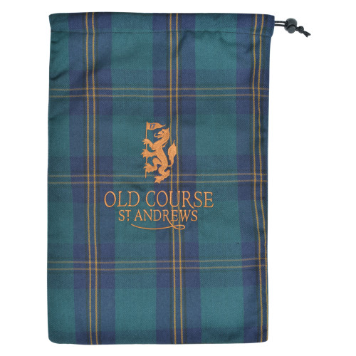 Old Course St Andrews Scotland Old Course Tartan Shoe Bag