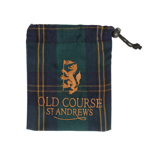 Old Course St Andrews Scotland Old Course Tartan Tee Bag
