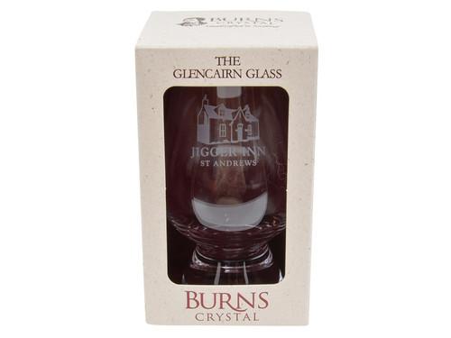 Old Course St Andrews Scotland Glencairn Jigger Whisky Glass