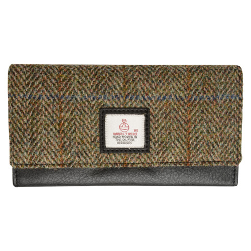 Old Course St Andrews Scotland Harris Tweed Purse