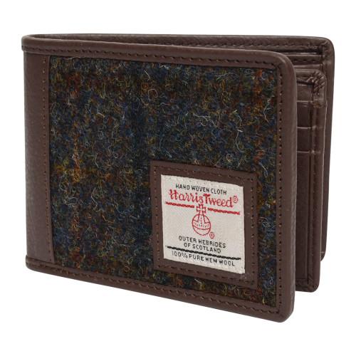 Harris Tweed Tri-fold Wallet