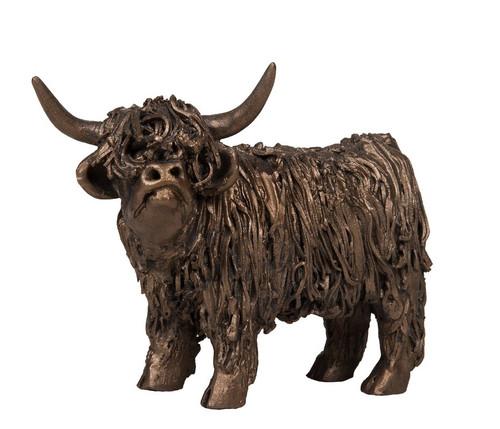 Bronze Highland Cow Junior
