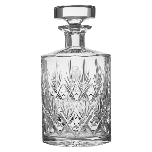St Andrews Old Course St Andrews Scotland Cut Crystal Decanter