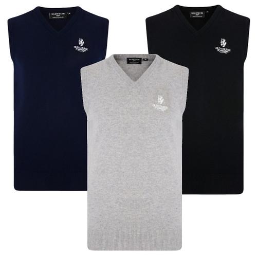 Lambswool V-neck Vest