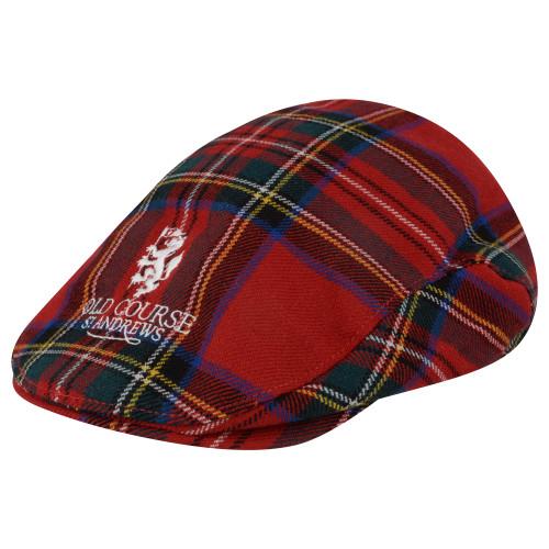 hat, cap, sunhat, Old Course, St Andrews, Hat, Golf hat, Tartan hat, wool hat