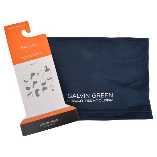 Galvin green delta snood neck gaitor scarf - navy