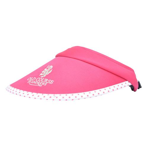 Ladies golf hat, visor, sunhat, Old Course, St Andrews, Hat, Golf hat