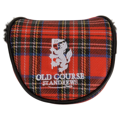 Headcover, Golf Club Cover, Tartan, St Andrews, Old Course, Putter Cover