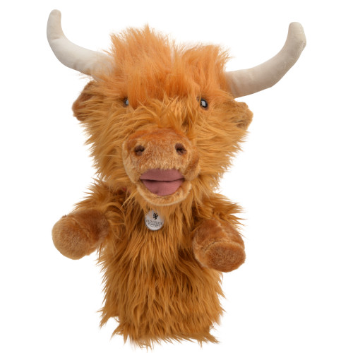 Headcover, Cow Headcover, Golf Club Cover, Club Cover, Highland Cow, Highland Coo, Golf, St Andrews, Old Course,