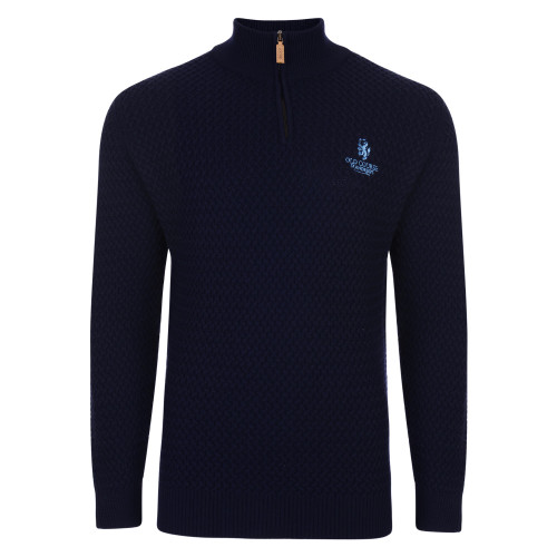 Interweave Merino Zip Sweater