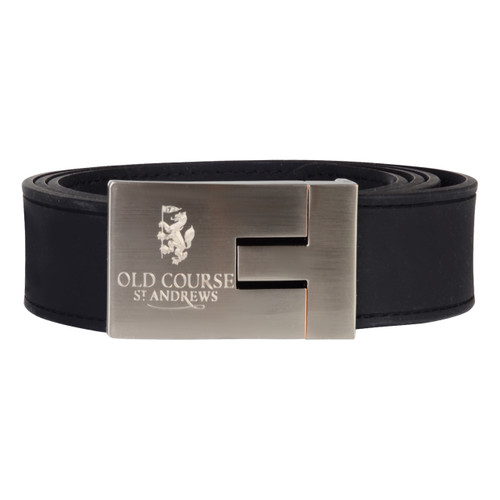 St Andrews Old Course Golf Black Silicone Belt