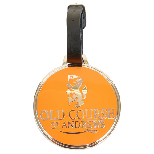 Engravable Bag Tag - Orange