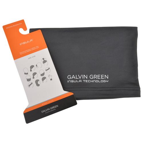 Galvin green delta snood neck gaitor scarf - grey