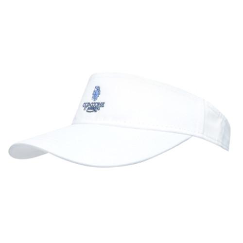 Traditional Visor - White