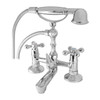 Retro Elegant Chrome Plated Brass Bathroom Tap With Shower Loge Victorian 10 from Bath taps